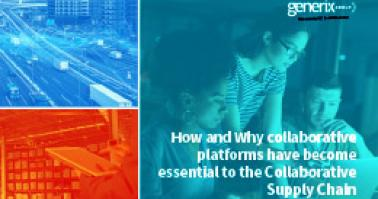 "Download our Collaborative Supply Chain Ebook: ""How and why collaborative platforms have become essential to the Collaborative?"""