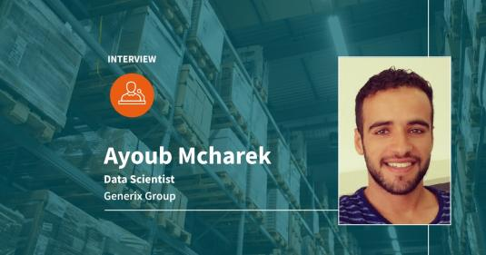 Ayoub Mcharek e a Data Science na Supply Chain