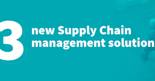 3 new Supply Chain management solutions